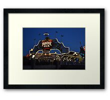 Paradise Bay at Sunset Framed Print