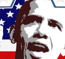 Obama Star Shirt Sticker