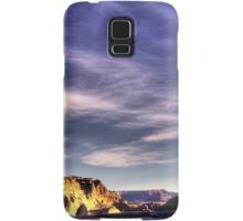 Sunrise at Lake Powell Above the Glen Canyon Dam Samsung Galaxy Case/Skin