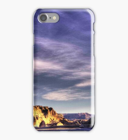Sunrise at Lake Powell Above the Glen Canyon Dam iPhone Case/Skin