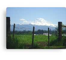 Rainier Country Canvas Print