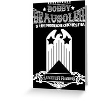 Bobby Beausoleil Lucifer Rising Design  Greeting Card