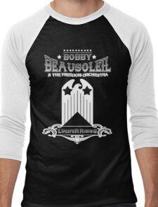 Bobby Beausoleil Lucifer Rising Design  Men's Baseball ¾ T-Shirt