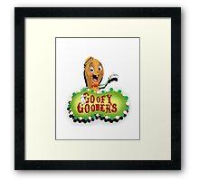 Goofy Goobers Framed Print