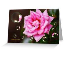 Pink on Pink Greeting Card