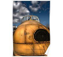 Westland RAF Helicopter Poster
