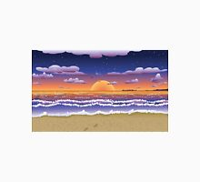 Sunset on tropical beach Unisex T-Shirt