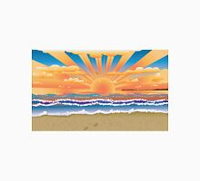 Sunset on tropical beach 2 Unisex T-Shirt
