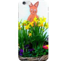 Easter Greetings iPhone Case/Skin