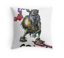 They call Him...Crank Throw Pillow
