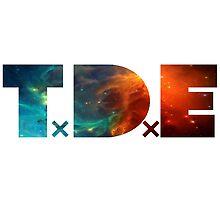 TDE Orange and Blue Nebula by Telic