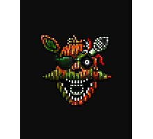 Five Nights at Freddy's 3 - Pixel art - Phantom Foxy Photographic Print