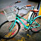 bicycle after the rain. by ShellyKay