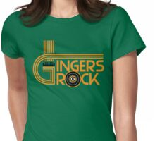 Gingers rock Womens Fitted T-Shirt