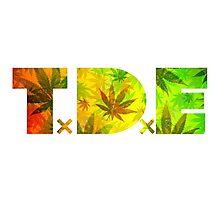TDE Rastafarian Weed  Photographic Print