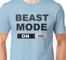 Swipe to Unlock Beast Mode Unisex T-Shirt