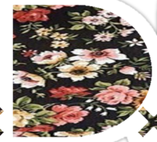TDE Floral Pattern 2 Sticker