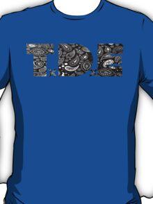 TDE Gangster Black Bandanna  T-Shirt