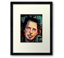 Chris Cornell Framed Print
