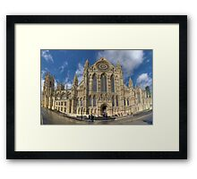 York Minster HDR Panoramic Framed Print