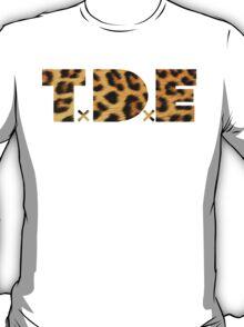 TDE Leopard Pattern T-Shirt
