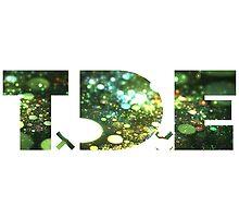 TDE Green Specks Glare by Telic