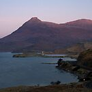 Ardvreck Castle  and  Quinag by Alexander Mcrobbie-Munro