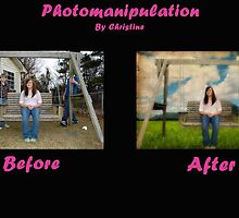Photomanip : Before and After by MeanChristine