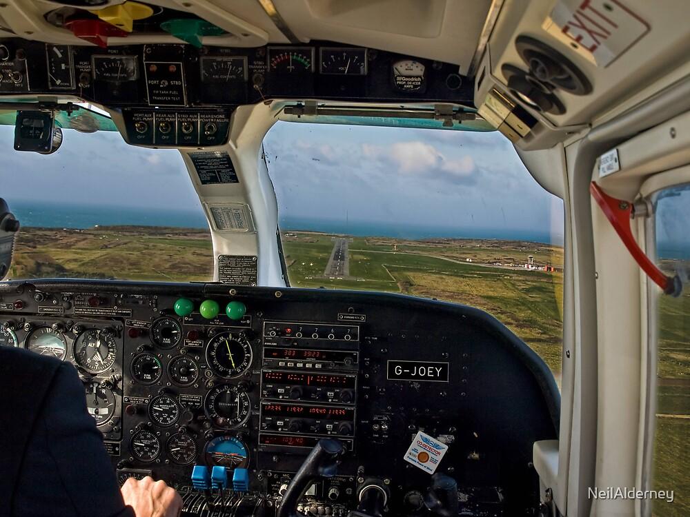 Short Final - Alderney by NeilAlderney