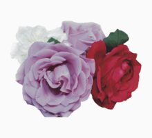 Bouquet of Garden Roses by Vrai Chic