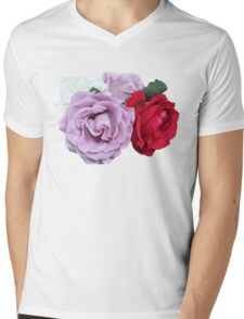 Bouquet of Garden Roses - Hipster/Pretty/Trendy Flowers Mens V-Neck T-Shirt