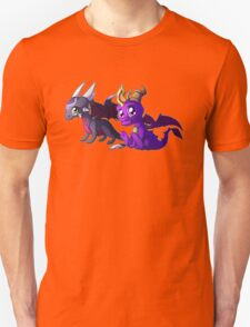 Chibi Spyro and Cynder T-Shirt