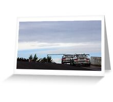 Porsche Racing  Knockhill Greeting Card