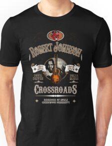 Robert Johnson Devil Driven Delta Blues  Unisex T-Shirt