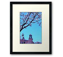 Citi Plaza & Dogwoods 02 Framed Print