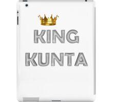 King Kunta Crown iPad Case/Skin