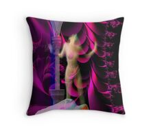 Nocturnal Agony Throw Pillow