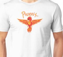 Phoenix With Title Unisex T-Shirt