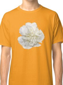 Single White Carnation - Hipster/Pretty/Trendy Flowers Classic T-Shirt