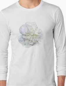 Single White Carnation - Hipster/Pretty/Trendy Flowers Long Sleeve T-Shirt