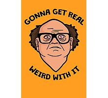 Frank Reynolds getting real weird with it. Photographic Print