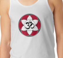 Aum Seed of Life Red Tank Top