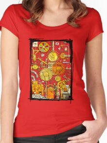 HUMAN BODY Women's Fitted Scoop T-Shirt