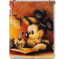Disney - Mickey Mouse Writing iPad Case/Skin