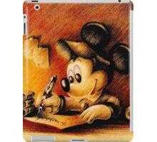 Disney - Mickey Mouse Writing iPad Case/Skin