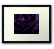 Purple Velvet Framed Print