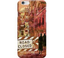 The pedestrians iPhone Case/Skin
