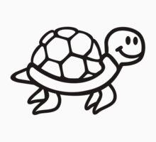 Comic ocean turtle Kids Clothes