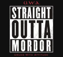 Straight Outta Mordor by ringlordrules