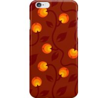 pattern with berry iPhone Case/Skin